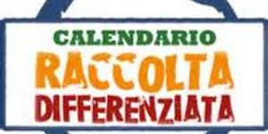 CALENDARIO RACCOLTA DIFFERENZIATA E VEGETALI 2019